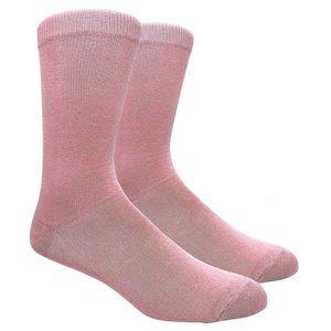 Men's Sandy Pink Color Dress Socks